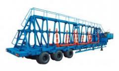 The ChMZAP 99064 concrete panel trailer according