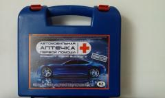 Automobile first-aid kit