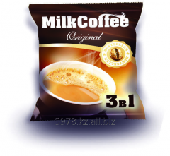 "3 in 1 coffee in bags of ""MilkCoffee"