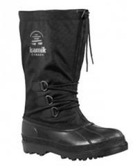 CANUCK boots rubber nylon black, KAMIK Footwear
