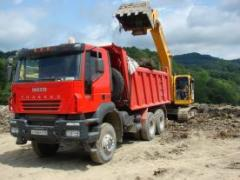 Dump trucks, IVECO-AMT 653900 dump truck