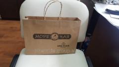Бумажный ЭКО пакет из крафта