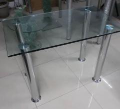 Стеклянный стол 1030*600 с закалкой
