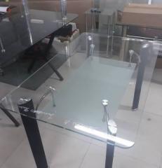 Стеклянный стол 1200*750×750