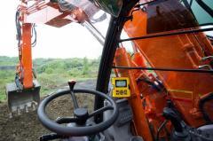 Системы нивелирования для экскаватора MOBA,