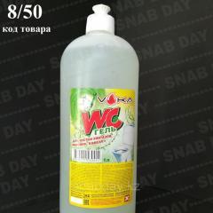 Дезинфицирующее ср-во для сантехники WC gel, 1