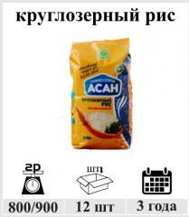Круглозерный рис 900 гр.