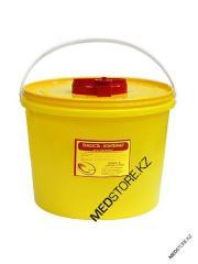 Емкость-контейнер для сбора острого инструмента