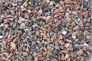 Loose, road materials, crushed stone, building