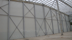 Sandwich - panels roofing, a minvata the size