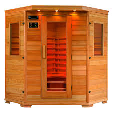 Saunas are infrared