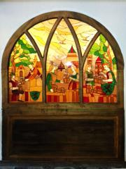 Stained-glass windows exclusive - an art studio the Brownie