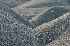 Mixes crushed-stone gravel and sand, Crushed stone
