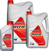 Alfa antifreeze of 10 kg.