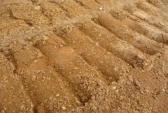 Грунт рыжий глинистый суглинок (Акмолинская