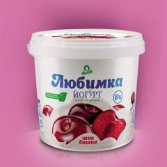 Йогурт вишневый
