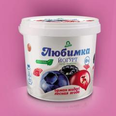 Йогурт лесные ягоды