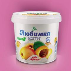 Йогурт абрикосовый
