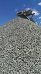 Щебеночно-песчано-цементная смесь