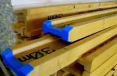 Балка перекрытия двутавровая деревянная БДК-1,