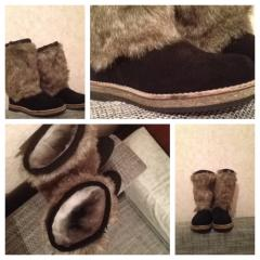 I will sell High fur boots of all sizes