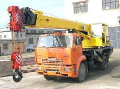 Truck crane of 32 t EBPO-3-4