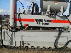 Concrete placer distributor of PS-3000, machine