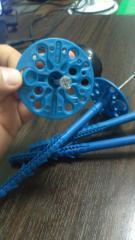 Fixing pins