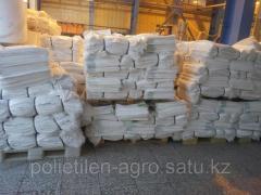 Мешки белые с полиэтиленовым вкладышем
