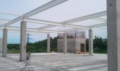 Building frames, metal