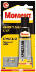МОМЕНТ Кристалл Универсальный контактный клей для