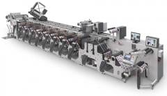 Flexographic printing machine of 4-5 sections,