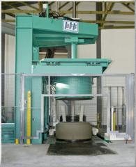 Equipment for production of reinforced concrete