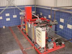 Installations for production of bitumen emulsion