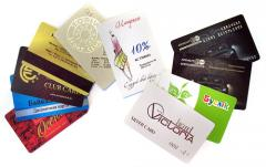 Discount cards, free shipping
