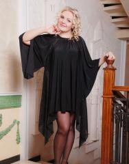 Women's clothing of the big sizes