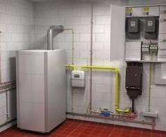 Energy saving heating electroinstallations