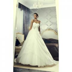 Классическое Свадебное платье А силуэта Жемчужина