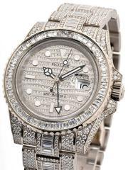 Rolex GMT white G 116769TBR original