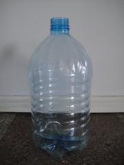 Container molding plastic - the blown bottles (5 l