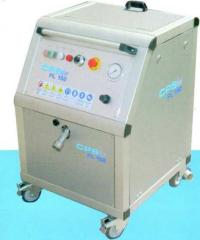 Cryogenic blasting, means for dry cleaning of any