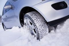 Winter tires in Atyra