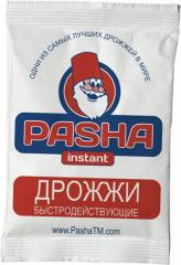 PASHA yeast dry high-speed in assortmen