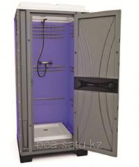 Mobile shower cabin