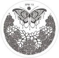 SPB-13 Диск для нейл стемпинга