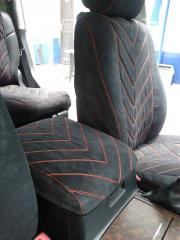 Covers on car seats