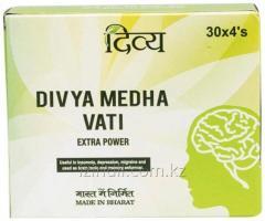 Медха Вати ,120 таблеток, для эффективного питания клеток мозга, Medha Vati Divya Pharmacy