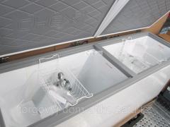 Морозильный ларь МЛК- 800 корпус серый верх серый