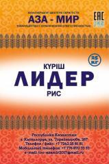 Рис шлифованный в мешках полипропиленовых