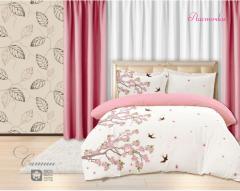 Комплект постельного белья 'Ласточки' - Сатин «AZALA Textile»